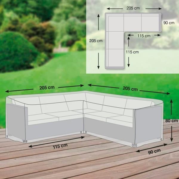 Schutzhülle für Loungegruppe L-Form